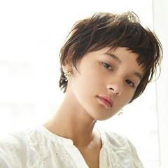 前髪あり ベリーショート ショート 秋 ヘアスタイルや髪型の写真・画像