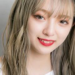 外国人風カラー ハイトーンカラー ホワイトシルバー インナーカラー ヘアスタイルや髪型の写真・画像