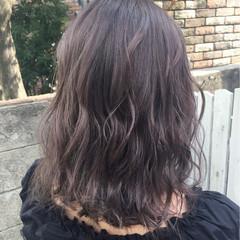 秋 フェミニン ミディアム ヘアアレンジ ヘアスタイルや髪型の写真・画像