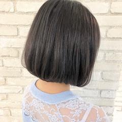 デート ボブ スポーツ フェミニン ヘアスタイルや髪型の写真・画像