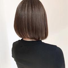冬 ボブ 秋 大人女子 ヘアスタイルや髪型の写真・画像