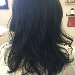 女子会 デート フェミニン セミロング ヘアスタイルや髪型の写真・画像