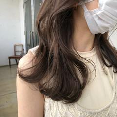 ヌーディベージュ シアーベージュ 色気 ナチュラル ヘアスタイルや髪型の写真・画像