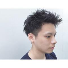 ナチュラル パーマ ショート 刈り上げ ヘアスタイルや髪型の写真・画像