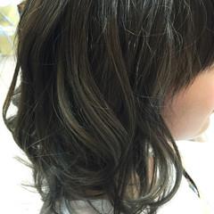 外国人風 ハイライト ストリート グラデーションカラー ヘアスタイルや髪型の写真・画像