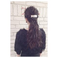 ウェーブ パーティ 外国人風 ヘアアレンジ ヘアスタイルや髪型の写真・画像