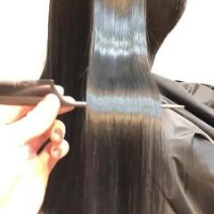 サラサラ ナチュラル PIM 最新トリートメント ヘアスタイルや髪型の写真・画像