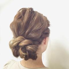 ヘアアレンジ 愛され 波ウェーブ ロング ヘアスタイルや髪型の写真・画像