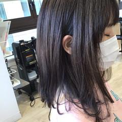 グレージュ アッシュグレージュ アッシュグレー グレー ヘアスタイルや髪型の写真・画像