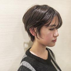 スポーツ ナチュラル デート ショート ヘアスタイルや髪型の写真・画像