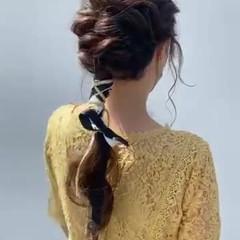 ヘアアレンジ ゆるふわセット 結婚式ヘアアレンジ 成人式ヘア ヘアスタイルや髪型の写真・画像