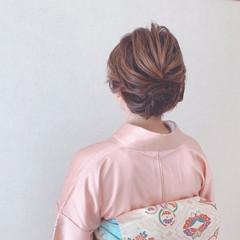 ミニボブ ヘアアレンジ お呼ばれ ボブ ヘアスタイルや髪型の写真・画像