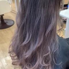 ミルクティーベージュ ミルクティーブラウン ヌーディベージュ ハイトーン ヘアスタイルや髪型の写真・画像