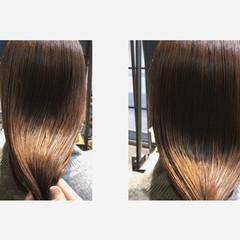 ナチュラル oggiotto 大人ロング 髪質改善 ヘアスタイルや髪型の写真・画像
