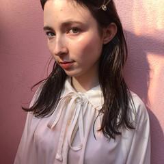 フェミニン 透明感 簡単ヘアアレンジ 結婚式 ヘアスタイルや髪型の写真・画像