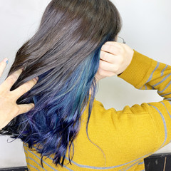 ヘアアレンジ ナチュラル 黒髪 簡単ヘアアレンジ ヘアスタイルや髪型の写真・画像