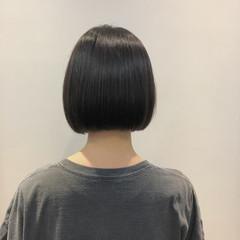 ミニボブ 黒髪 ショートボブ ボブ ヘアスタイルや髪型の写真・画像