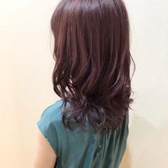 ラズベリーピンク ピンクブラウン ピンク ベリーピンク ヘアスタイルや髪型の写真・画像