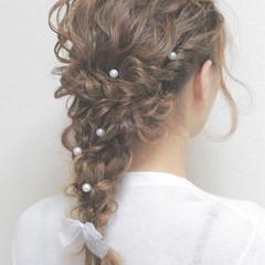 愛され ヘアアレンジ ナチュラル ショート ヘアスタイルや髪型の写真・画像