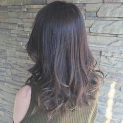 デート 外国人風 ミディアム 秋 ヘアスタイルや髪型の写真・画像