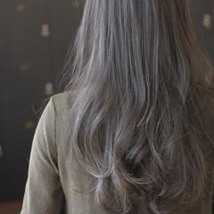 ロング ハイライト エアリー ゆるふわ ヘアスタイルや髪型の写真・画像