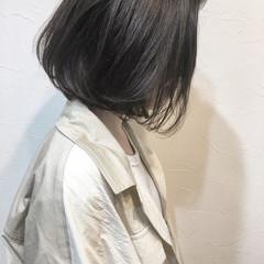 大人女子 パーマ ショート ボブ ヘアスタイルや髪型の写真・画像