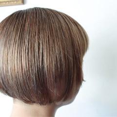 小顔 外国人風 ナチュラル 大人女子 ヘアスタイルや髪型の写真・画像