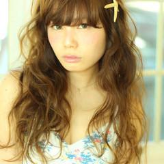 外国人風 ガーリー フェミニン モテ髪 ヘアスタイルや髪型の写真・画像