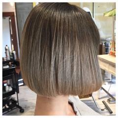 外国人風 タンバルモリ 透明感 ボブ ヘアスタイルや髪型の写真・画像
