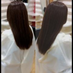 ロング 髪質改善トリートメント ナチュラル 艶髪 ヘアスタイルや髪型の写真・画像