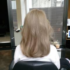ナチュラル ロング グラデーションカラー 外国人風 ヘアスタイルや髪型の写真・画像