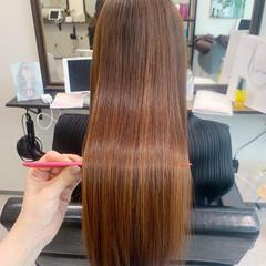 ロングヘア ナチュラル 髪質改善 大人かわいい ヘアスタイルや髪型の写真・画像