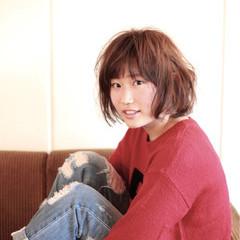 外国人風 ショートボブ ショート パーマ ヘアスタイルや髪型の写真・画像