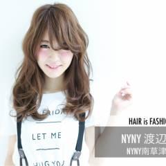 大人かわいい 外国人風 ストリート ロング ヘアスタイルや髪型の写真・画像