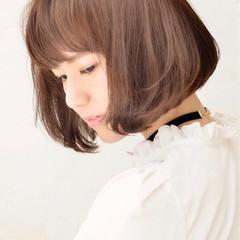 アッシュ ショート 外国人風 ボブ ヘアスタイルや髪型の写真・画像