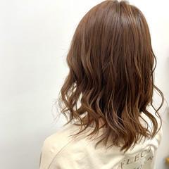 髪質改善 ベージュ グレージュ 髪質改善カラー ヘアスタイルや髪型の写真・画像