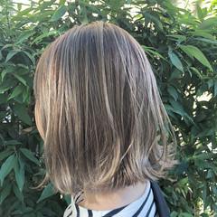 グラデーションカラー ユニコーンカラー ボブ インナーカラー ヘアスタイルや髪型の写真・画像
