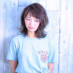 暗髪 涼しげ ストリート 夏 ヘアスタイルや髪型の写真・画像