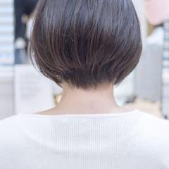 ショートボブ ショート ショートヘア マッシュショート ヘアスタイルや髪型の写真・画像