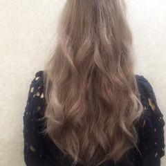 外国人風 ロング 艶髪 ゆるふわ ヘアスタイルや髪型の写真・画像