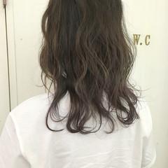 ストリート アッシュ 外国人風カラー パープル ヘアスタイルや髪型の写真・画像