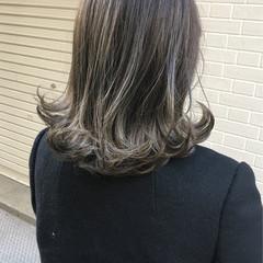 上品 エレガント 外国人風 ブリーチ ヘアスタイルや髪型の写真・画像