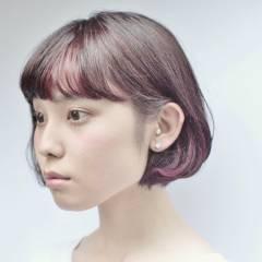 ショート モード オン眉 秋 ヘアスタイルや髪型の写真・画像