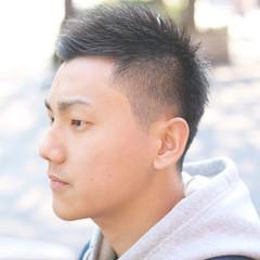 ストリート 福岡市 ベリーショート ショート ヘアスタイルや髪型の写真・画像