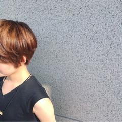 ショート ストリート ナチュラル かっこいい ヘアスタイルや髪型の写真・画像