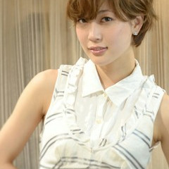 パーマ 大人かわいい 外国人風 ショート ヘアスタイルや髪型の写真・画像