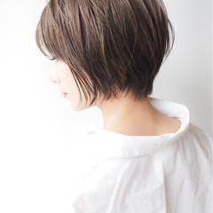 ショート ゆるふわ コンサバ 大人かわいい ヘアスタイルや髪型の写真・画像