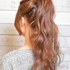 デートヘア デート ヘアアレンジ 結婚式 ヘアスタイルや髪型の写真・画像