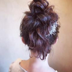結婚式 パーティ ヘアアレンジ ロング ヘアスタイルや髪型の写真・画像