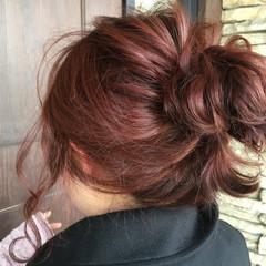 ゆるふわ フェミニン ショート ヘアアレンジ ヘアスタイルや髪型の写真・画像